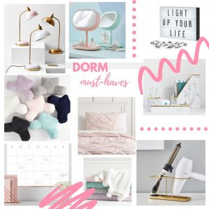 Planning the Perfect Dorm Room with Pottery Barn Dorm
